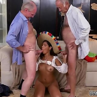 Old granny and milf man Going South Of The Border - Victoria Valencia